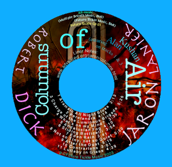 Overly Cluttered CD Face Design.